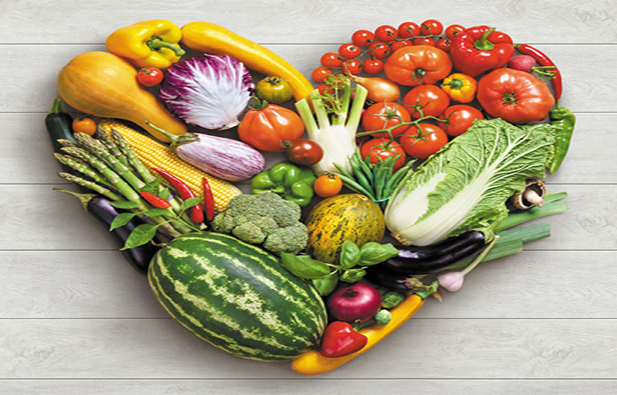 Nutrition Based Therapy - vegetable heart